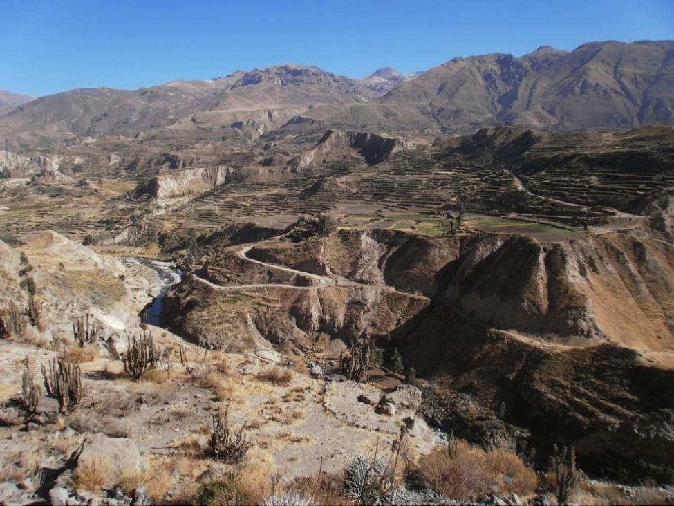 Arequipa, Perú, Cañón del Colca