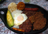 Bandeja Paisa - Colombia - Ingredientes