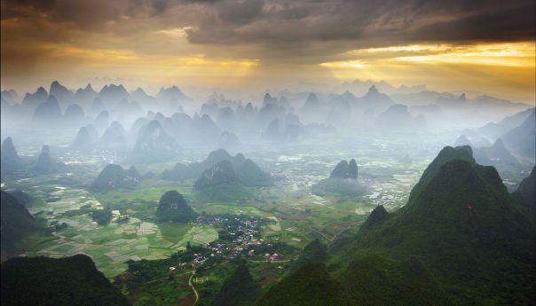 "China, El ""mundo perdido"" de Yangshuo."