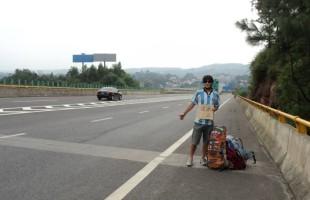 Gonzalo Cazenave: Vuelta al Mundo a Dedo