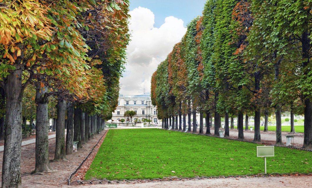 Jardines de Paris.