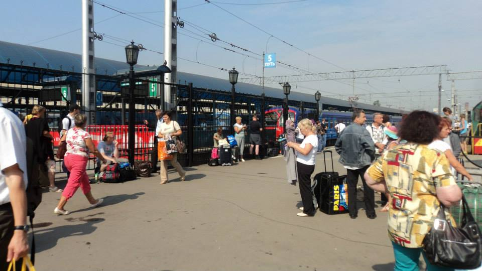 Estación Yaroslavsky, Moscu.