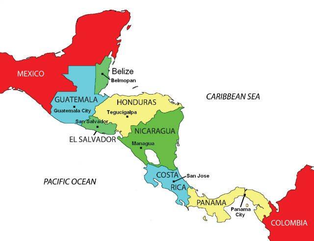 mapa-de-centroamerica