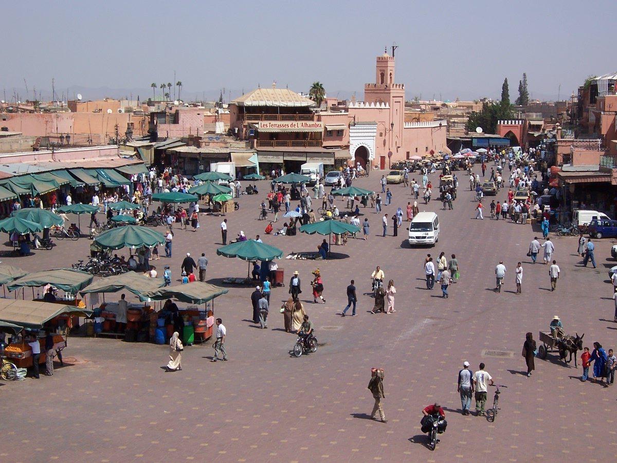 MoroccoMarrakech_DjemaaElFna.