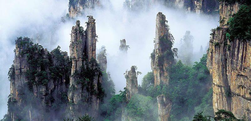 las-montanas-tianzi-en-china-las-montana