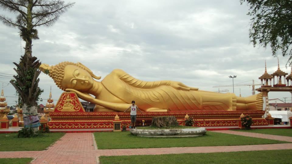 Buda Dormido, Foto Gonzalo Cazenave