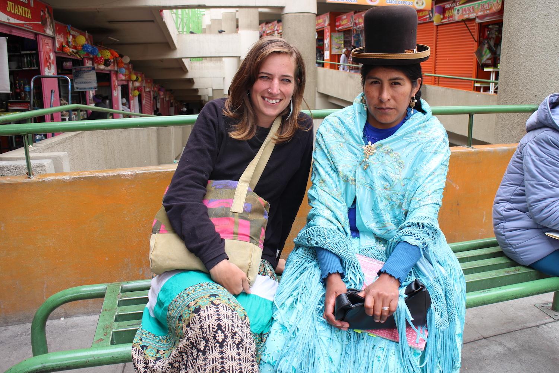 Sissi Korhonen en Bolivia