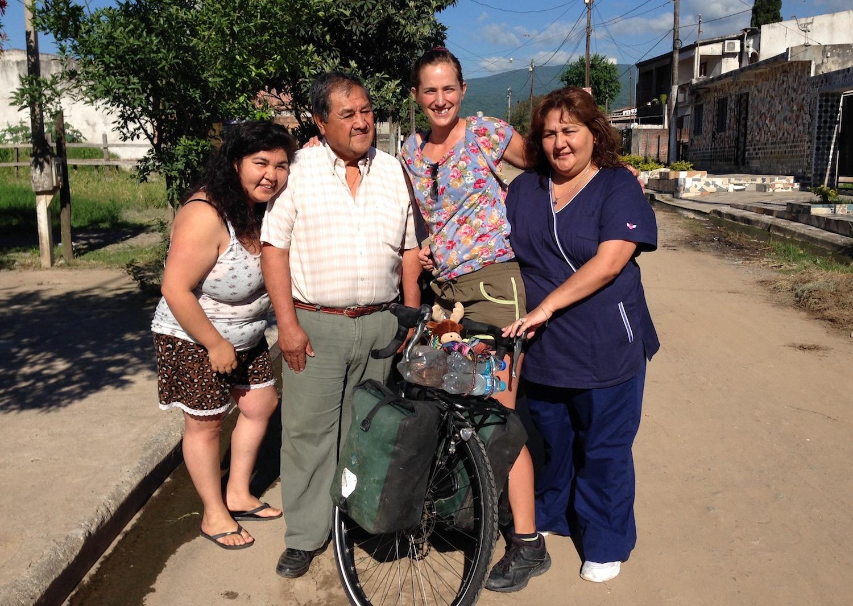 Sissi Korhonen en Tucuman