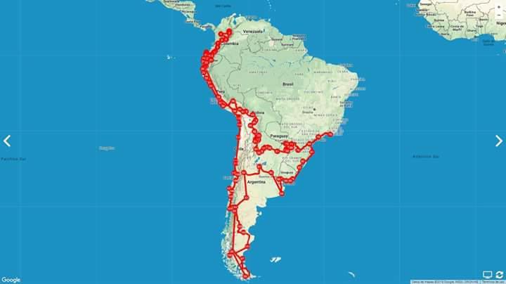 Ruta de Viaje