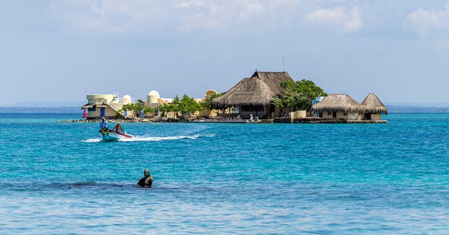 Islas del Rosario . Mejores playas de Colombia.