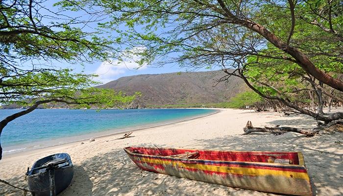 Playa Grande. Mejores playas de Colombia.