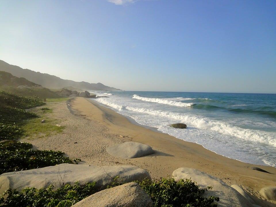 Parque Tayrona. Mejores playas de Colombia.