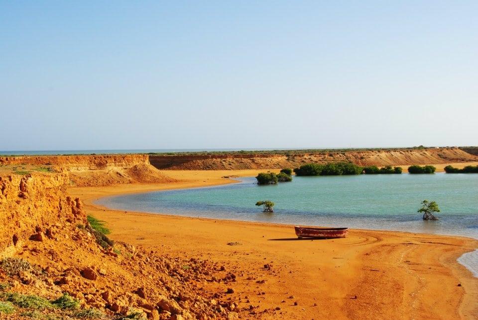 Punta Gallinas. Mejores playas de Colombia.