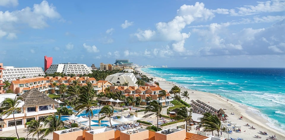 PLAYA CHAC MOOL, CANCÚN. Mejores playas de México