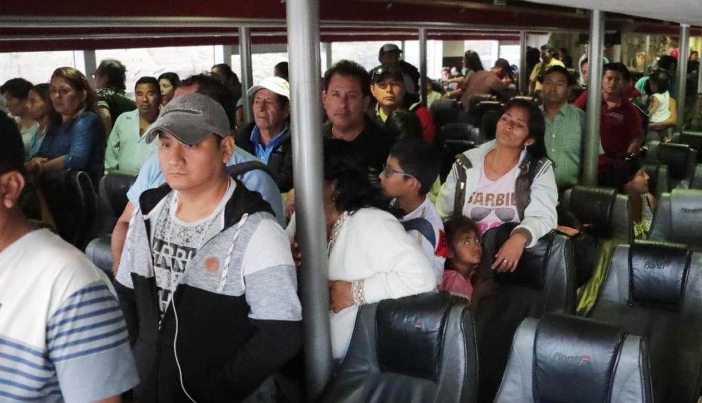 Colombia a Perù en el nuevo ferry