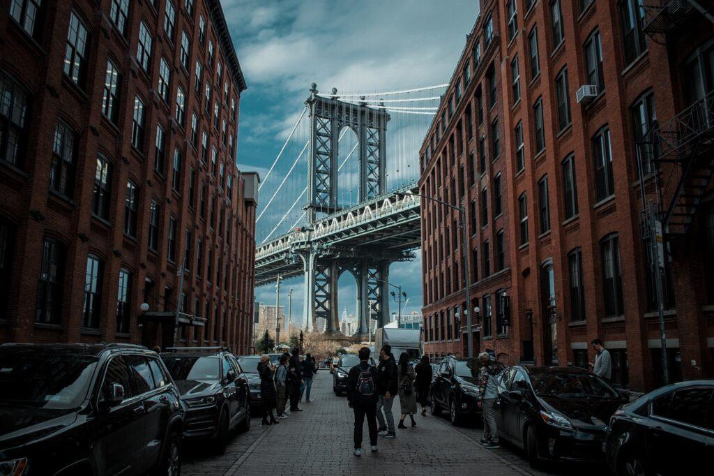 caminar en New York